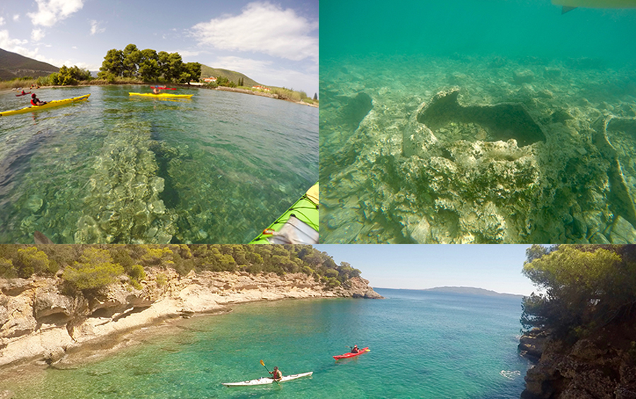 ancient sunken city kayak tour