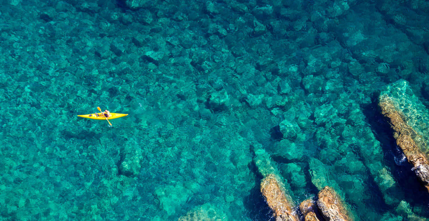 sea kayak greece