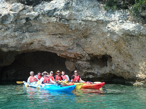 sea kayak nafplio tour